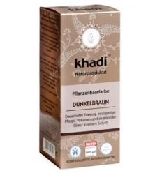 """Органическая краска для волос """"Dunkelbraun"""" Темно-коричневый, Khadi"""