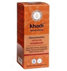 """Органическая краска для волос """"Nussbraun"""", Khadi"""