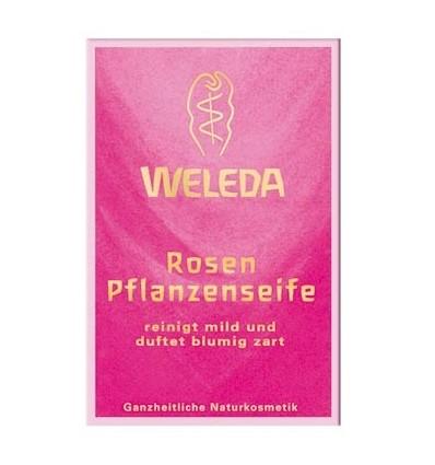Розовое питательное мыло, Weleda