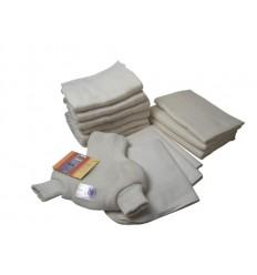 Пробный трикотажный набор №2 (трикотажный подгузник + мультиразмерный подгузник), Disana