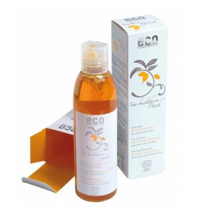 Гель для душа с экстрактами облепихи и ароматом персика Eco cosmetics
