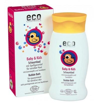 Детская пена для ванны с экстрактами граната и облепихи Eco cosmetics