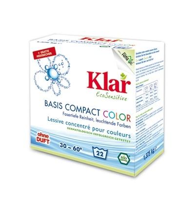 Klar Порошок для стирки цветного белья 1.375 кг