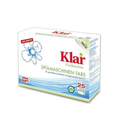 KLAR Таблетки для посудомоечных машин, 25 шт.