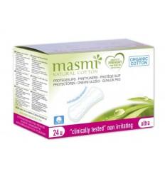 Органические гигиенические ежедневные прокладки в индивидуальной упаковке, MASMI