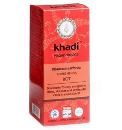 """Органическая краска для волос """"Чистая Хна"""" (Reines Henna), Khadi"""