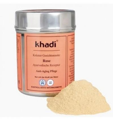 """Растительная маска для лица """"Rose"""" Омолаживающая, KHADI"""