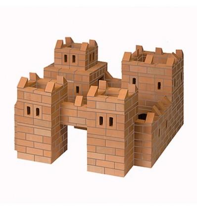 """Конструктор из настоящих кирпичиков """"Замок"""", BrickNik"""