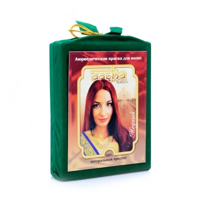 Аюрведическая краска Медная, Aasha Herbals