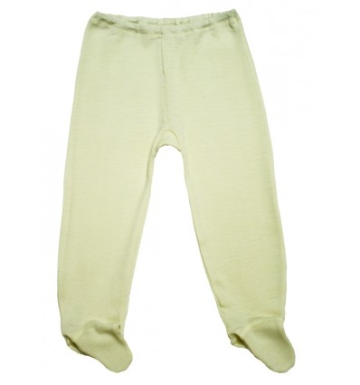 Штанишки с носочком из шелка и шерсти, Hocosa