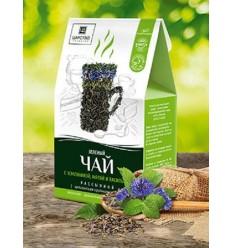 Зеленый чай с земляникой, мятой и васильком, Царство Ароматов