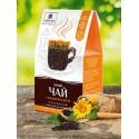 Черный чай с календулой и мятой, Царство Ароматов