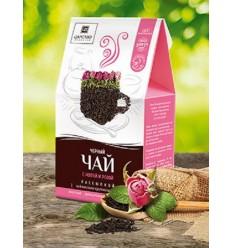 Черный чай с мятой и розой, Царство Ароматов