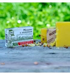 """Натуральное мыло """"Медовое с лимоном"""", Яка"""