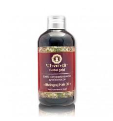 """Натуральное масло для волос """"Брингарадж"""",Chandi"""