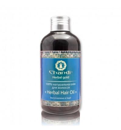 """Натуральное масло для волос """"Травяное"""", Chandi"""