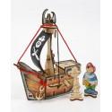 Пиратский корабль «КАРАМБА», Woody