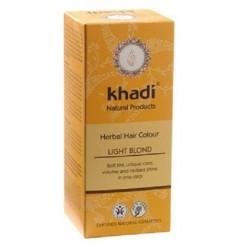 Органическая краска для волос «Light Blond», Khadi