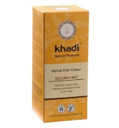 Органическая краска для волос «Golden Hint», Khadi