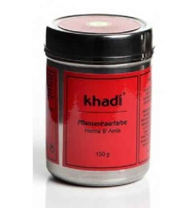 Органическая краска для волос «Henna & Amla», Khadi