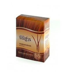 Травяная краска для волос Золотисто-коричневая, Aasha Herbals