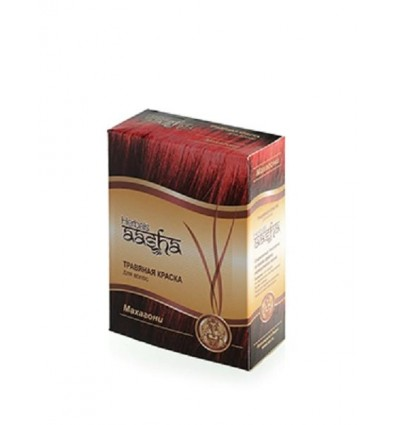Травяная краска для волос Махагони, Aasha Herbals