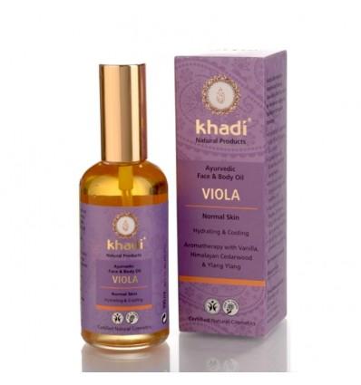"""Масло для лица и тела """"VIOLA"""", Khadi"""