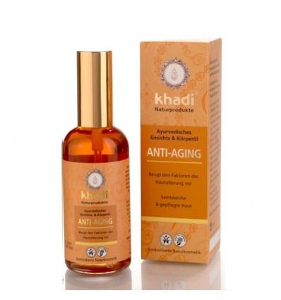 "Масло для лица и тела ""Anti-Aging"", Khadi"