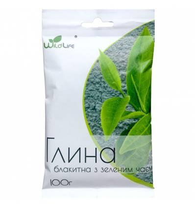 Глина голубая с зеленым чаем, Wild Life