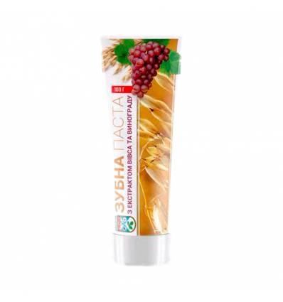 Зубная паста с экстрактом овса посевного и красных сортов винограда, Авиценна