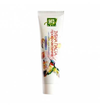 Зубная паста профилактическая с экстрактом цветов календулы, Эколюкс