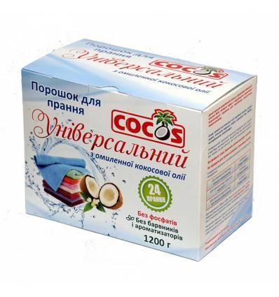 Универсальный стиральный порошок с мылом из кокосового масла, Cocos