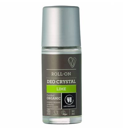 Роликовый дезодорант «Лайм», Urtekram