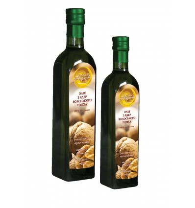 Масло из ядер грецкого ореха, Олійні традиції
