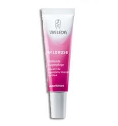 Розовый крем для интенсивного ухода за кожей вокруг глаз Weleda