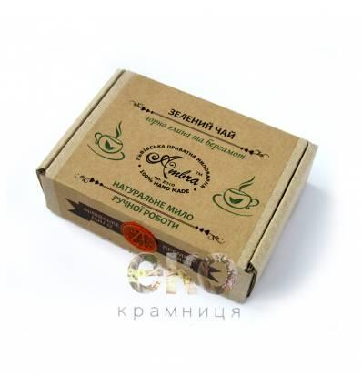 "Натуральное мыло ""Зеленый чай"", Амбра"