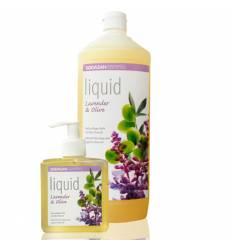 SODASAN органическое жидкое мыло Lavender-Olive успокаивающее 1 л