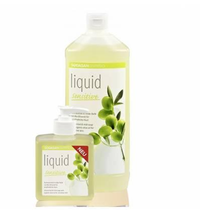 SODASAN органическое жидкое мыло Sensitiv для чувствительной и детской кожи 1 л