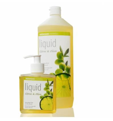 SODASAN органическое жидкое мыло Citrus-Olive, бактерицидное 0, 3 л