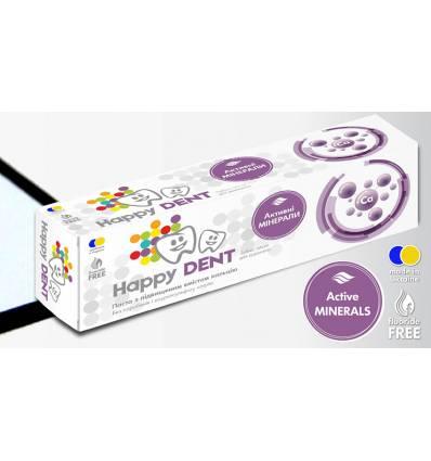 Зубная паста «Активные минералы», HappyDent