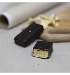 Батончик карамельный в шоколаде, Живая кухня