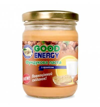 Фундуковая паста с арахисом, Good Energy