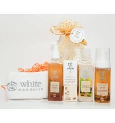 """Подарочный набор """"Основной уход - 4 этапа», White Mandarin"""