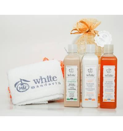 """Подарочный набор """"Основной уход за волосами, White Mandarin"""