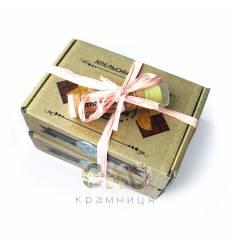 """Подарочный набор """"Апельсин-шоколад"""", Амбра"""