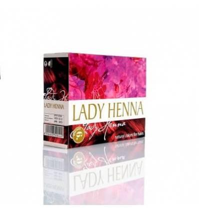 Краска для волос Бургунд Lady Henna