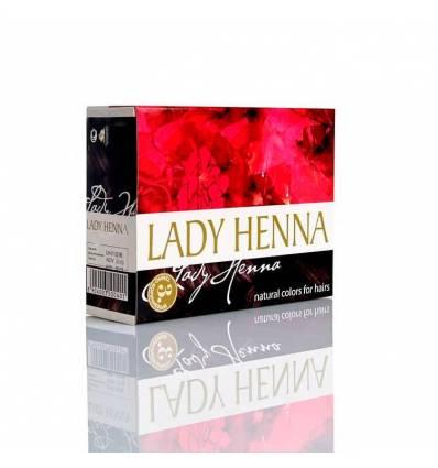 Краска для волос Темно- коричневая Lady Henna