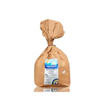 SODASAN Органический стиральный порошок-концентрат Compact 5 кг