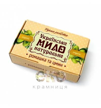 """Крымское мыло """"Ромашка с бессмертником"""""""