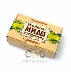 """Украинское мыло """"Цитрусовое"""", Дом Природы"""